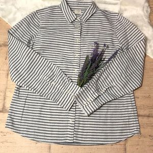 🎉J.Crew The Perfect Shirt Striped Button Down🎉